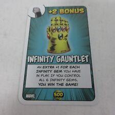 Steve Jackson Games Munchkin CCG Marvel Infinity Gauntlet Promo Card NEW
