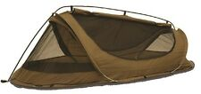 Catoma Badger 64577F COYOTE BROWN Ripstop Nylon 1 Person Tactical Shelter Tent