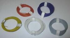 [0,179€/m] Kupfer - Litze  extra dünn  0,04 mm²    5 Ringe a 10 Meter   NEU