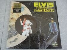 ELVIS PRESLEY 2x Lp w/SHRINK Aloha from Hawaii QUADRADISC vinyl quadraphonic