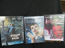 3 Classics A Star is Born,Singin in the Rain and Mildred Pierce Brand New
