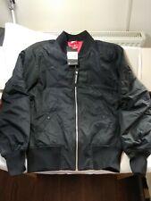 Nike Bomber Jacket Size S black flight MA-1 winter alpha industries Harrington