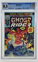 GHOST RIDER #2 CGC 8.5 1st app DAIMON HELLSTROM Son of Satan Marvel Comics Hulu