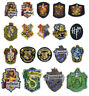 Harry Potter Houses badges collection Iron or Sew on Embroidered Patch
