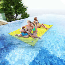 9X6FT 3-Layer Floating Water Pad Lounge Bed Float XPE Foam Mat Lake Recreation
