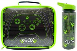 Microsoft Xbox Insulated Lunch Bag and Jumbo 750ml Hydration Bottle   Lunch Box