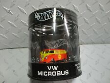 Hot Wheels Oil Can Mint Red/Yellow Shell Pump Services Volkswagen Microbus w/RR