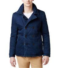 Cappotti e giacche da donna blu fantasia nessuna fantasia con doppiopetto