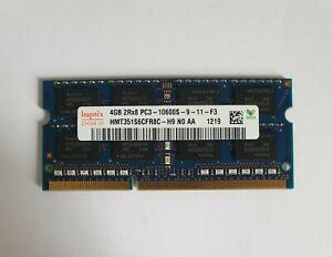 HYNIX 1X4GB 4GB HMT351S6CFR8C-H9 DDR3 4GB 2Rx8 PC3 10600S Laptop Ram Memory