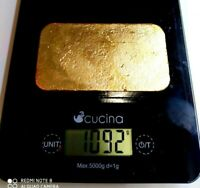 1092 Grams Scrap gold bar for Gold Recovery Melted Different Computer Coin Pins