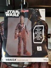 Star Wars Chewbacca Chewie Halloween Costume youth child kid sizes  S 3/4