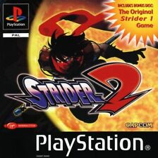 STRIDER 1 & 2 / SONY PLAYSTATION PS1 / NEUF SOUS BLISTER D'ORIGINE MULTI LANGUES