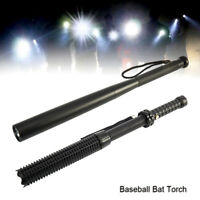 LED Long Baseball Bat Flashlight 2000Lumens Waterproof Bright Baton Torch Mode