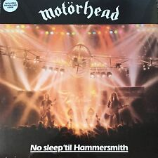 MOTORHEAD 'NO SLEEP 'TIL HAMMERSMITH' VINYL LP + DOWNLOAD CODE BRAND NEW SEALED