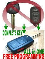 ALin1 FLIP KEY REMOTE FOR TOYOTA BAB237131-056 TD1 RS3200 CHIP ALARM CLICKER FOB