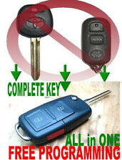 EUROPE FLIP KEY REMOTE FOR TOYOTA CHIP TRANSMITTER ALARM CLICKER FOB 3BTBXD2