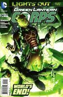 Green Lantern Corps #24 Lights out Pt II New 52 DC Comic 1st Print 2013 NM