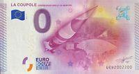 BILLET 0  EURO LA COUPOLE CENTRE D'HISTOIRE FRANCE 2015 NUMERO 2200