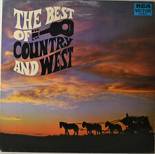 "The Best Of Country and West - Hank Snow - Bobby Bare etc. 12 "" LP (O246)"