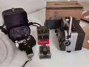 Vintage Film Pack: Projector + Super8 Camera + Splicer: Sankyo & Fujica