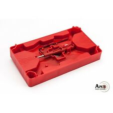 Apex Tactical Polymer Armorer Tray and Pin Punch for S&W M&P and Glock 104-110