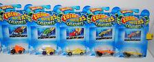 Hot Wheels Color Shifters Creatures 5 pc cars, Croc Rod, Super Stinger, Piranha