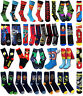 BATMAN SUPERMAN GROOMSMEN HULK CAPTAIN AMERICA BACHELOR FLASH DEADPOOL Socks