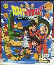 Anime DVD: Dragon Ball Complete (TV 1-153 End)_Good English Sub_R0_FREE SHIPPING