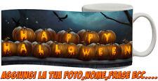 Tazza Personalizzata Happy Hallowen felice Halloween Zucche