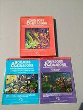 Dungeons & Dragons Basic Set French Language Version Moldway TSR