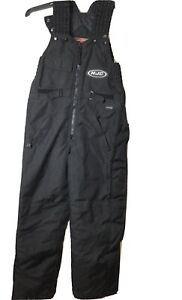 Hjc Reissa Womens X- Small Black Snowmobile Full Bib