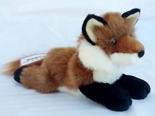 "Douglas Amber RED FOX 12"" Plush Stuffed Animal NEW"