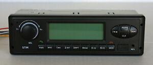 24 volt radio for John Deere or HITACHI Excavator AM/FM/WB/USB/Aux/ Bluetooth