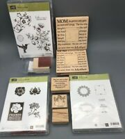 Rubber Stamp Scrapbooking Lot Stampin Up Scrapbook Crafts Cards
