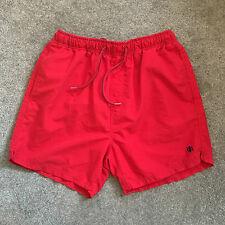 Men's Medium NEXT Red Swimming Trunk Shorts