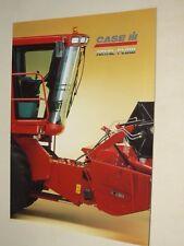Prospectus Moissonneuse CASE IH  AXIAL FLOW  Tracteur tractor Traktor Prospekt