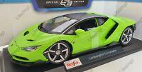MAISTO 1:18 Scale Diecast Model Car  Lamborghini Centenario in Green - Rare