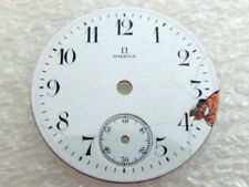 Porcelain Dial 26.3mm (Watch-face) Omega Antique Swiss Original White
