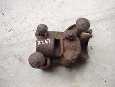 John Deere plow rolling rollin cutter mounting holder bracket to plow B267 B 267