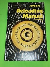 Speer 11th Edition Reloading Manual