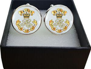 Royal Engineers Ubique (REU) Regiment Cufflinks - A Great Gift