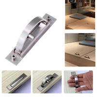 Durable Tatami Hidden Door Handle Recessed Flush Pull Cover Floor Cabinet Handle