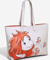 Loungefly Studio Ghibli Ponyo Tote Bag - New