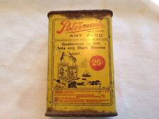 Peterman's Ant Food Tin, Great Graphics, 1930's
