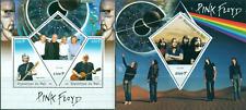 Pink Floyd Gilmour Barrett British Music MNH stamps set