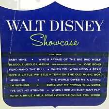 Vintage Walt Disney Sheet Music Showcase Song Book 16 Songs 1967 Piano