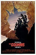 THE GOONIES (1985) ORIGINAL MOVIE POSTER  -  RARE VERSION B  -  ROLLED  -  MINT