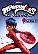 MIRACULOUS TALES OF LADYBUG AND CAT NOIR - IT'S LADYBUG - DVD - Reg 1