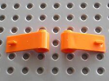Portes LEGO orange doors ref 3821 & 3822 / set 60165 60035 60017 4434 8404 7686