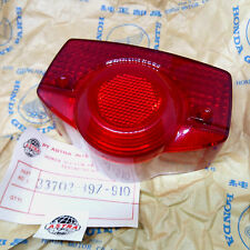 Honda C50 C65 C70 C90 S90 CL90 CB100 CB125 CA175 CB175 CD175 Tail Light Lens NOS